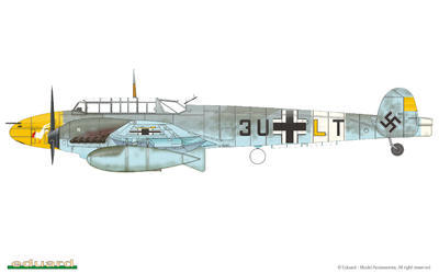 Bf 110C/D 1/72 - 2
