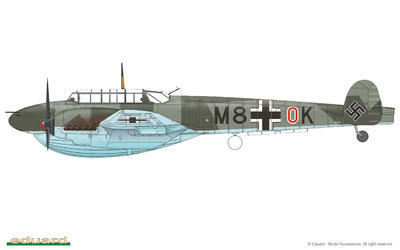 Bf 110C/D 1/72 - 3