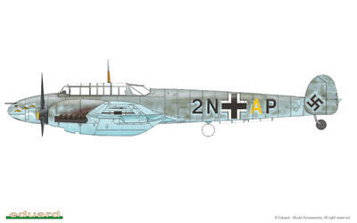 Bf 110C/D 1/72 - 4