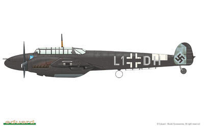 Bf 110C/D 1/72 - 5