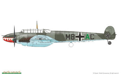 Bf 110C/D 1/72 - 6